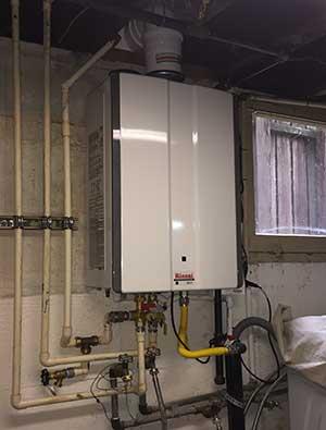 Rinnai Tankless Water Heater Installation Tacoma Wa
